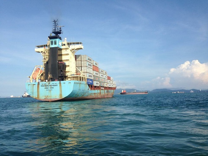 Vessel underwater Inspections in panama